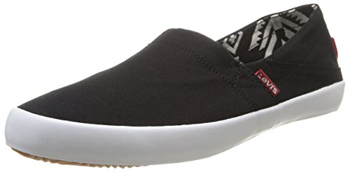 Levi's Sunset Slip On, Baskets mode homme Noir (59)