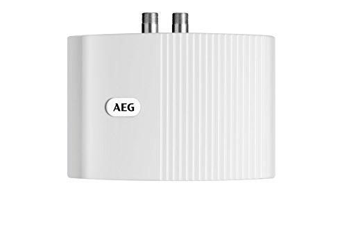 AEG elektronischer Klein-Durchlauferhitzer MTE 570, 5,7 kW drucklos und druckfest für Handwaschbecken, 231216