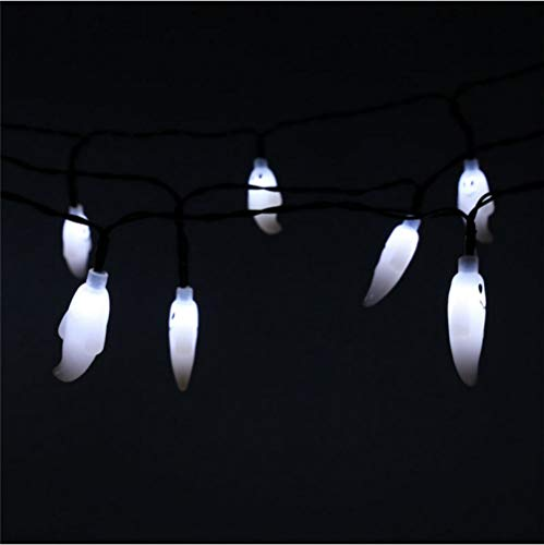 Solar süße Geister Lichterkette für Halloween Party Dekoration LED Outdoor String Licht dekoratives Licht (Geist Mit Halloween Outdoor-dekorationen)