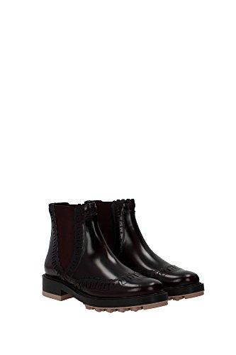 XXW0XM0O390AKTR802 Tod's Chaussure mi montantes Femme Cuir Noir Noir