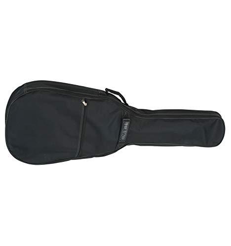 LAG ARKANE FLOYD 1500 transfer color negro mate + funda de guitarras eléctricas de Metal - moderno