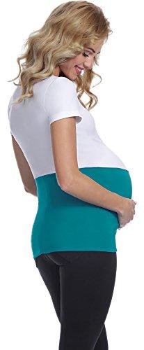 Be Mammy Damen Umstands Bauchband GX001 Meergrün