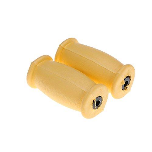 Healifty Gummi-Krücken Ersatz-Crutch-Handgriffe Crutch-Handpads für Unterarm-Krücken für Standard-Aluminium-Crutch-Zubehör-Kit