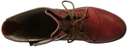 Mustang 1157-503-20 Damen Stiefel & Stiefeletten(Dunkelgrau) Rot (5 rot)