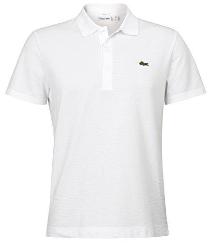 Lacoste Herren Poloshirt Gr. Medium, Weiß - Weiß
