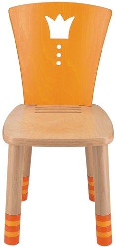 Haba 2736 Stuhl Gartenlaube Birke Buche Massiv, 41 x 77-83 x 44 cm, gelb
