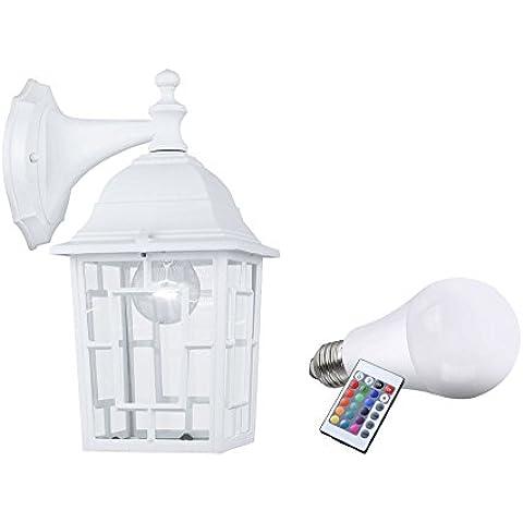 RGB LED 7 Watt parete riscaldatore Auo?en giardino cambiando colore