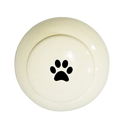 Homelix White Pet Cremation Urn Ceramics Memorial Urn For Cat Dogs Ashes (Pet urns-05) 6