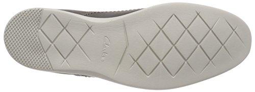 Clarks Herren Raharto Plain Derbys Grau (Grey Leather)