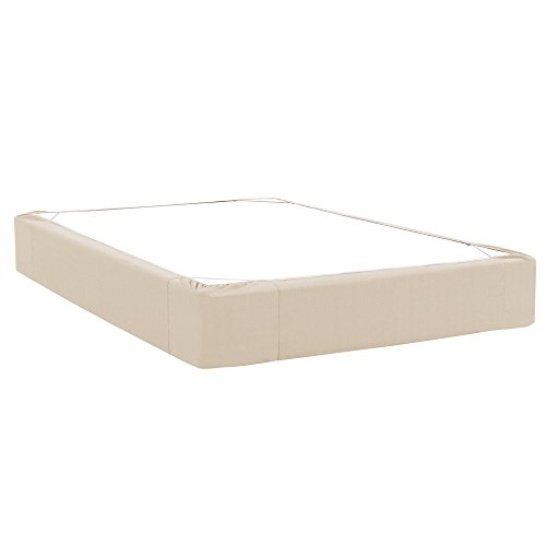 Howard Elliott 241–193 Box Spring Cover, Polyester-Mischgewebe, Sterling Sand, King Size (King Box Spring Cover)