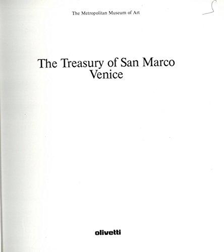 The Treasury of San Marco Venice.