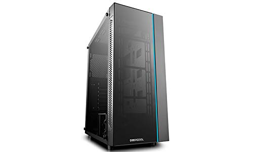 Deepcool MATREXX 55 Mid Tower Computer Case with Dual Tempered Glass and RGB Lighting System