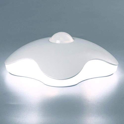 Bewegungs-Sensor-Nachtlicht, Lenova eingebaute Lithium-batteriebetriebene nachladbare LED-Lichter Stock-Everywhere drinnen, sicher für Kinder, groß für Badezimmer-Schrank-Treppe-Baumschule -