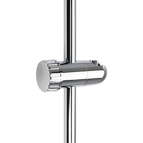 Curseur de barre de douche à molette Ø 19 - en ABS