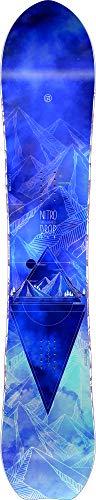 Nitro Snowboards Damen Drop '20 All-Mountain Freeride Girls Powderboard Carvingboard Board Snowboard, Mehrfarbig, 149 cm
