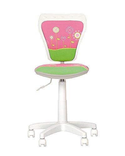 Chaise-expert Ministyle–Sedia da scrivania per bambini Girevole a 360°. Altezza regolabile. Schienale regolabile, seduta regolabile in profondità.