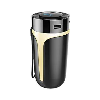 CAheadY Auto Bluetooth FM Transmitter Aroma Luftbefeuchter Freisprecheinrichtung MP3-Player USB-Ladegerät