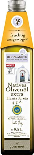 Bio Planète Olivenöl nativ extra Kreta, 2er Pack (2 x 500 ml)