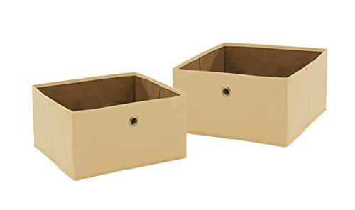 roba  26022 orange Canvas-Boxen im 2er-Set orange