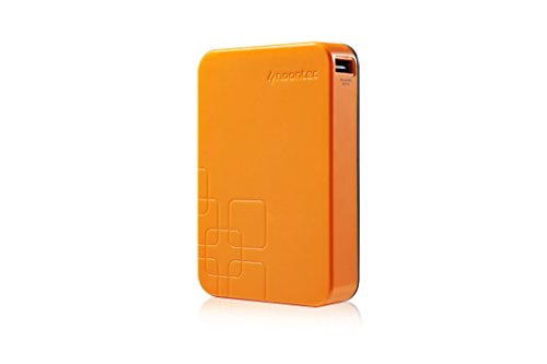 Noontec A15000O Giant Power Bank universal externer Akku-Ladegerät (15000mAh) für Smartphone/Tablet/Apple iPod/iPhone orange