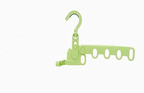 B & y Hanger holder-closet & Laundry Valet Green