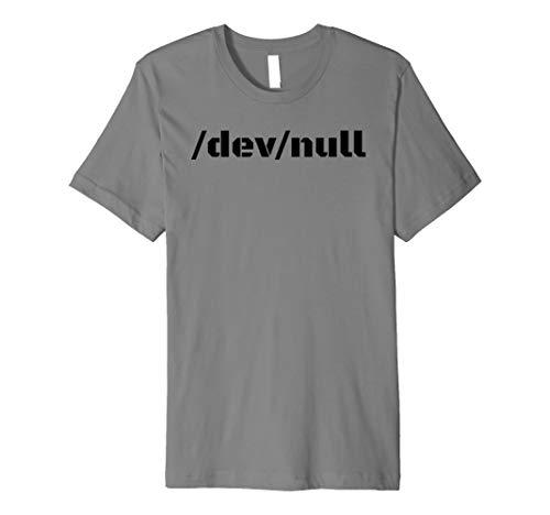 /DEV/Null Shirt Funny Web-Spiel Entwickler Nerd Geek Geschenk -