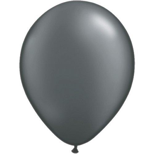 partydiscount24 100 x Luftballons Ø 30 cm | Freie Farbauswahl | 23 Ballon Farben (Grau)