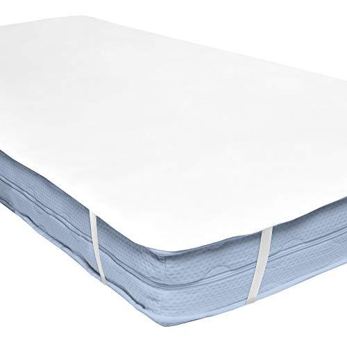 Beautissu coprimaterasso impermeabile letto singolo 80x200cm beautect ma molton protezione assorbente salvamaterasso