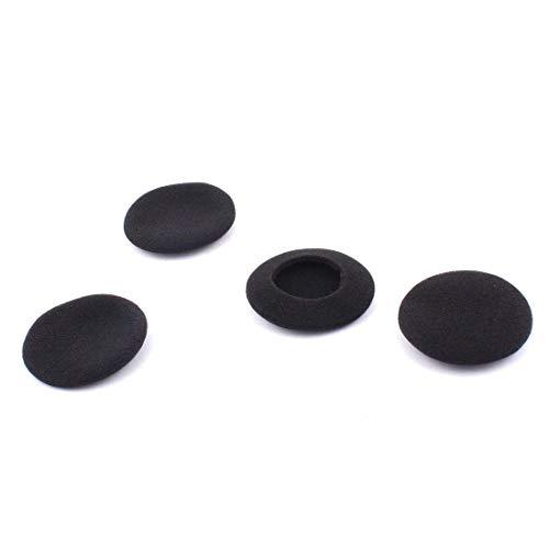 4 stück Schwarz Schwamm Ohrhörer Headset Kopfhörer Schaumstoff Abdeckung Auflagen Pad Schutz DE