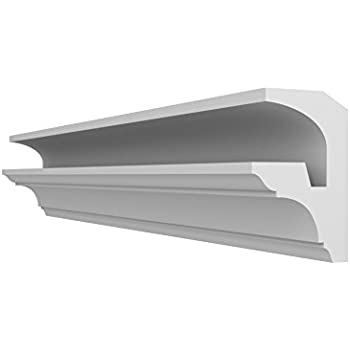 2 Meters Long Quality Product 1, 100mm x 60mm FL3 COVING LED Indirect Lighting System Cornice Moulding Ceiling Lightweight Polystyrene Coving Home Decor