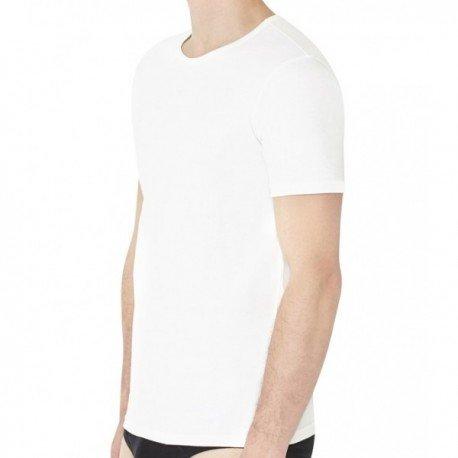 Pack von 3 T-shirts Emporio Armani Col Rond Blanc