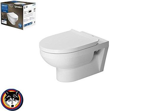 Duravit Wand-WC DuraStyle basic Wondergliss rimless Combipack