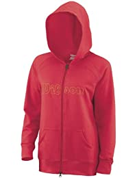 Wilson Damen Trainingsjacken W Full Zip Hoody