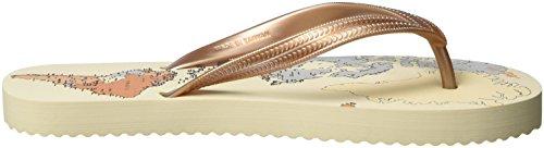 flip*flop - Original World, Infradito Donna Beige (sombrero)