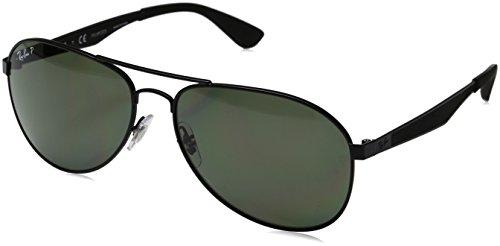 Ray-Ban Polarized Aviator Men's Sunglasses - (0RB3549006/9A61|61|Polar Green Color)