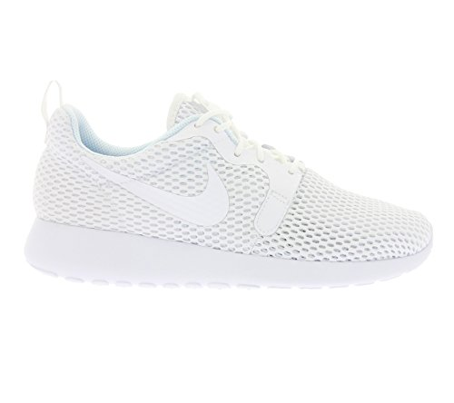 Nike Donna W Roshe One Hyp Br Scarpe da Ginnastica Basse Blanco (White / White-Pure Platinum)