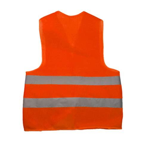 HEETEY Outdoor & Sport Sicherheit Hohe Sichtbarkeit, die reflektierende Weste-Sicherheitsausrüstung-Nachtarbeits-Oberseiten Laufen lässt -