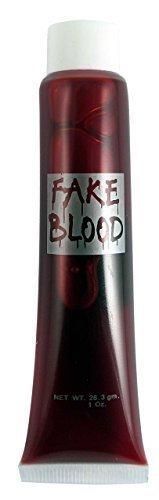 Fake Rot Blut mit rohr x 2