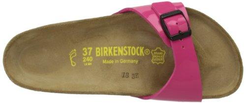 Birkenstock Madrid, Damen Sandalen Pink (Pink Patent)