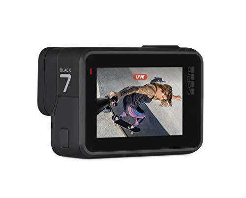 Gopro Hero7 Schwarz – Wasserdichte Digitale Actionkamera Mit Touchscreen, 4k-hd-videos, 12-mp-fotos, Livestreaming, Stabilisierung