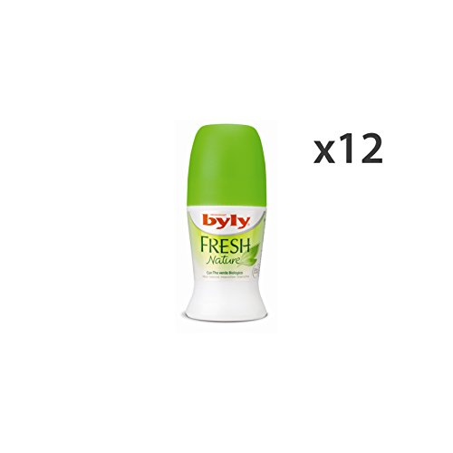 Set 12 BYLY Deodorante Roll-On Fresh Cura del corpo