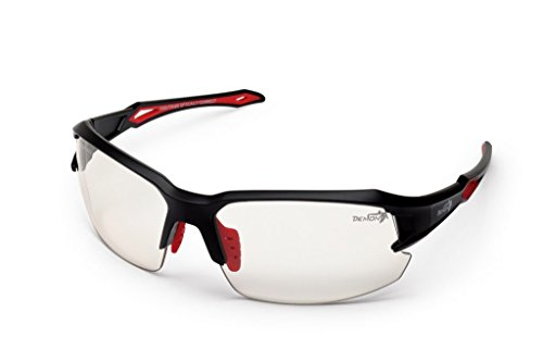 DEMON Radbrille TIGER PHOTOCHROMIC LENSES, Black Red