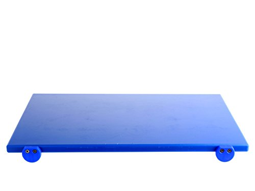 BERTOLI Tagliere plastica blu con batterie 60x40x2 Accessori da cucina