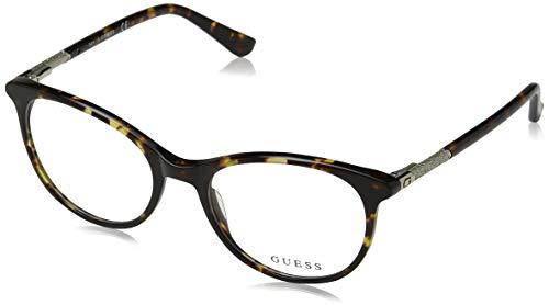 Guess Unisex-Erwachsene GU2657 052 52 Brillengestelle, Braun (Avana Scura),