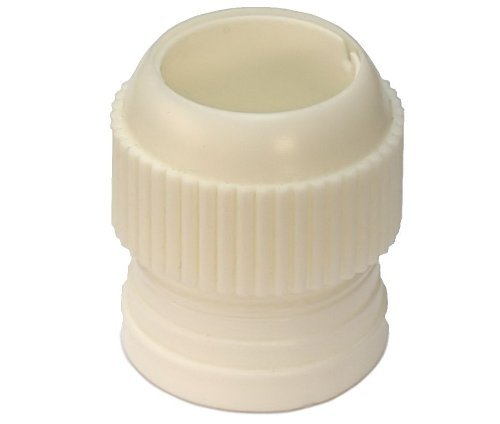 Extra Large Icing Tip Coupler - Fits the XL Cupcake Stars & Swirls Nozzle Set & Super XL Pro-Nozzles by Lets Cook Cookware