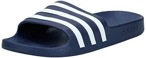 Adidas adilette aqua scarpe da spiaggia e piscina unisex - adulto, blu (navy f35542), 42 eu (8 uk)