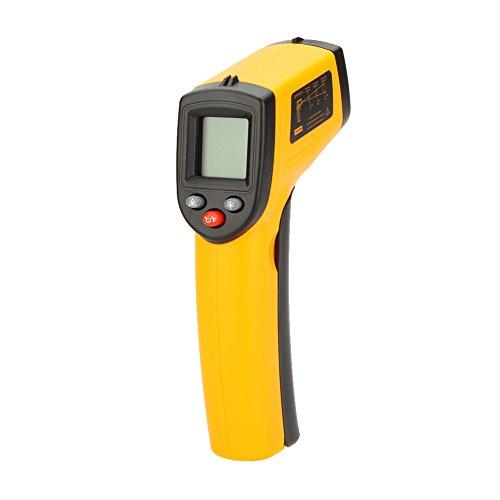 GM320 Termometro digitale a infrarossi IR Laser Temperatura Arma gamma Tester-50 380 ℃ (~~716-58 ℉) Con retroilluminazione LCD