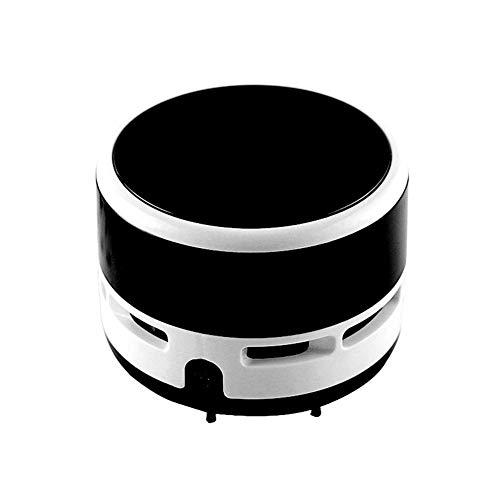 Coomir Drahtloser Tragbare Mini Vakuum-Schreibtisch Reiniger Staub Kehrmaschine für Büro Tastatur Zuhause schwarz (Schreibtisch Staub-reiniger)