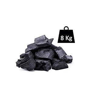 Horizón Forestal Carbón Vegetal de encina Natural 8kg Barbacoa