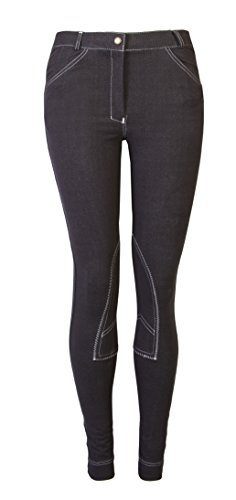 Ladies-Knitted-Denim-Jodhpur-Riding-Trouser